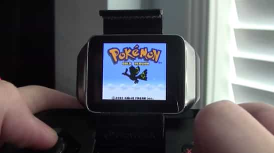 Emulateur Game Boy sur Smartwatch