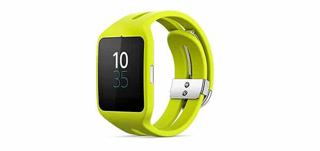 Smartwatch 3 jaune