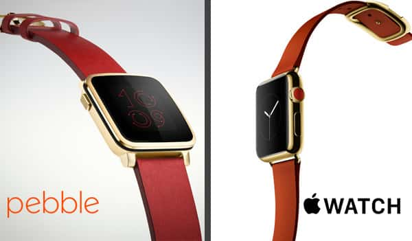 Pebble Time Steel vs Apple Watch