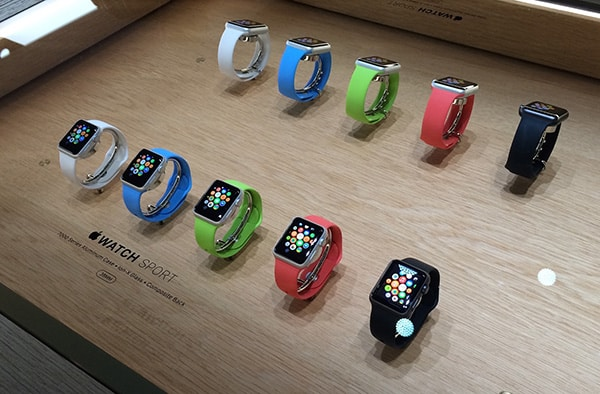 Apple Watch en magasin