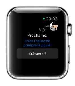 apple watch - la pilule