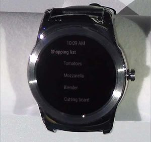 Android Wear low power mode