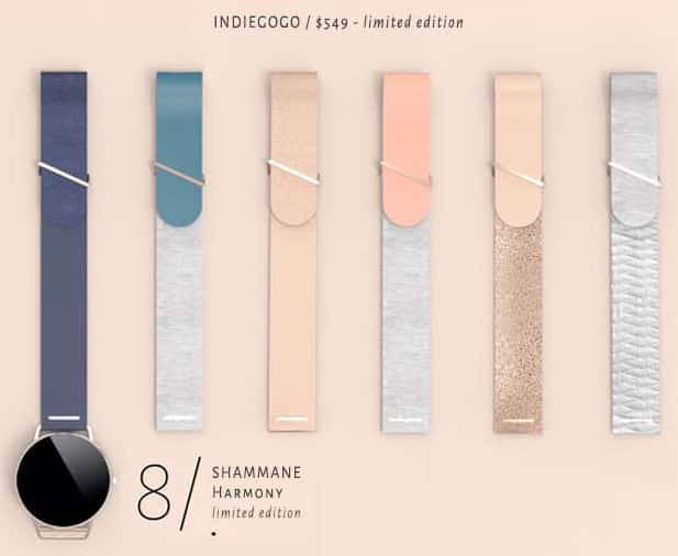 Shammane, les bracelets