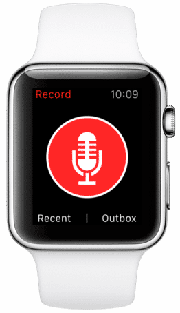 justpressrecord apple watch