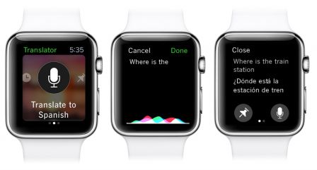translator apple watch